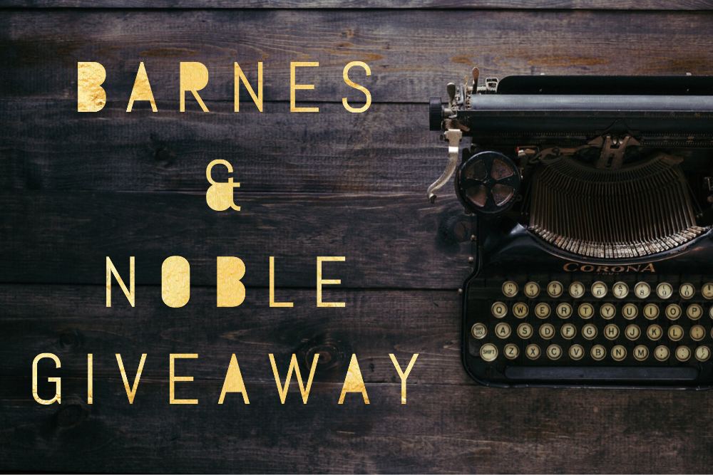 $150 Barnes & Noble Gift Card Giveaway