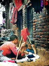 Photo: In Nepal
