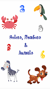 Listen to Colors, Numbers & Animals - náhled