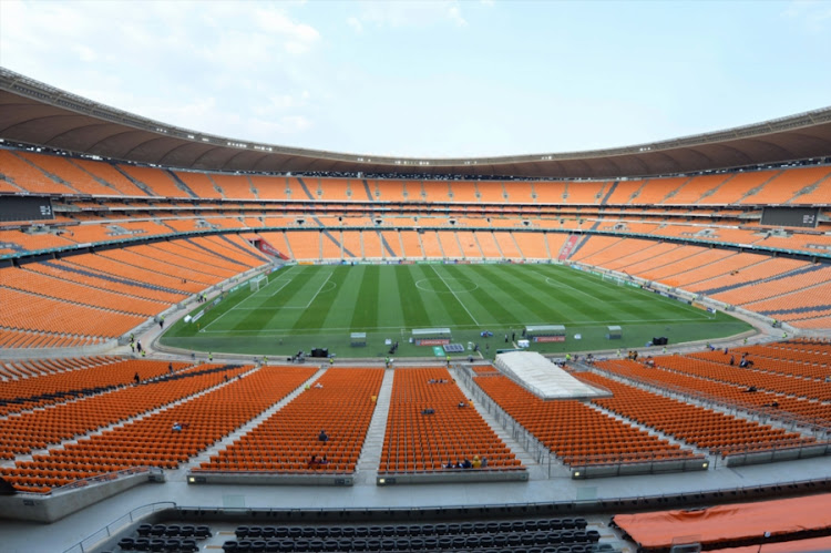 General View of FNB Stadium.