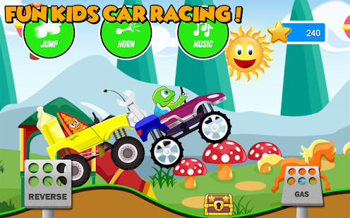 Fun Kids Car Racing - náhled