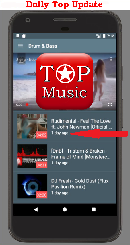 Music Top YouTube- screenshot