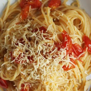 Spaghetti With Cherry Tomatoes Recipes