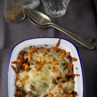 Spaghetti Squash And Mince Baked Casserole