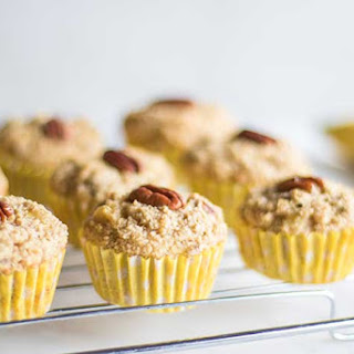 Healthy Banana Nut Muffins.