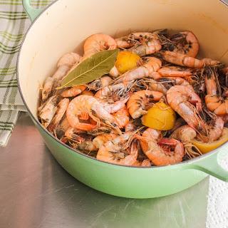 Perfect Spiced Boiled Shrimp