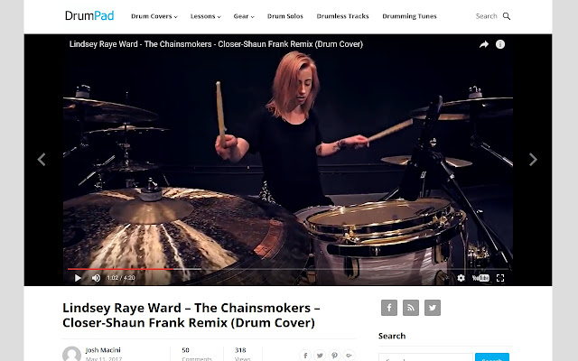 DrumpadVideo Videos for Drummers