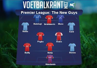 Dit zijn de beste zomertransfers in de Premier League: Ibrahimovic, Stones, Xhaka, ...