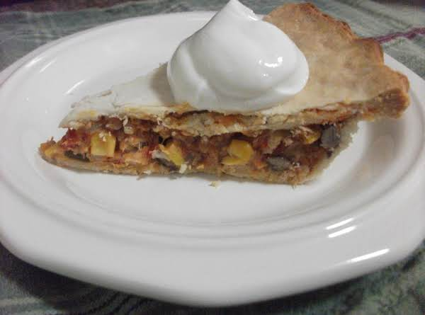 Leftover Turkey Enchilada Pot Pie Recipe