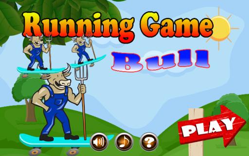 Running Game Bull