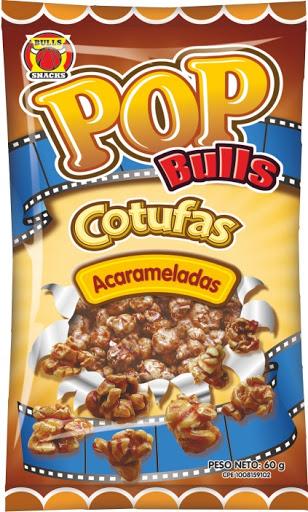 snack cotufa pop bulls acaramelada 60gr Bull Snacks