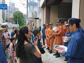 Photo: イケメン消防官に・・・。