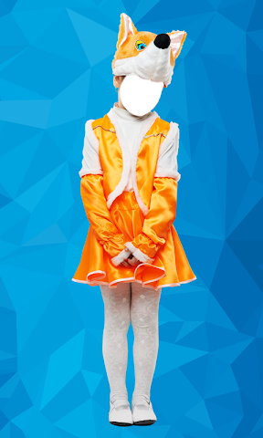 android enfants costume montages photo Screenshot 3