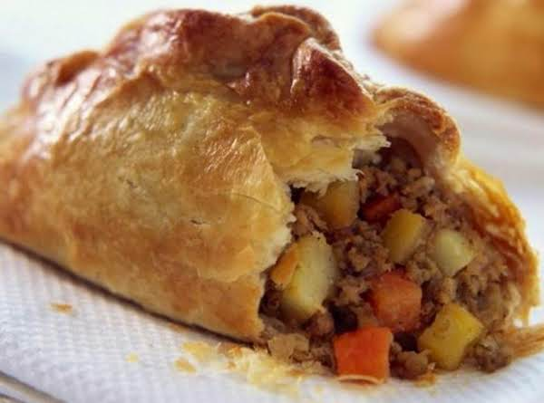 The Traditional Cornish Pasty.