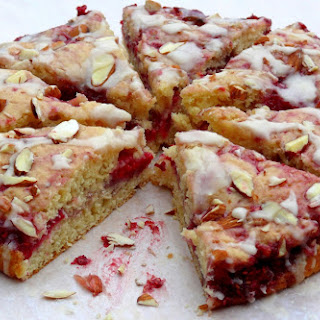 Raspberry Almond Coffee Cake Recipe