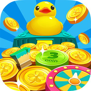 The MOST addictive and realistic carnival coin pusher game ever! Win super prize APK Icon