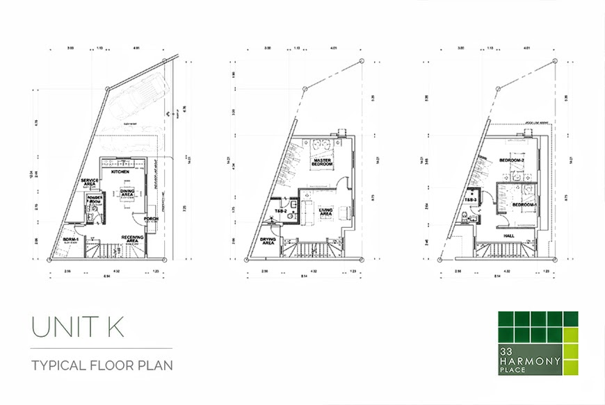 Unit K floor plan
