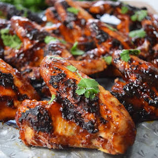 Honey Chipotle BBQ Wings.