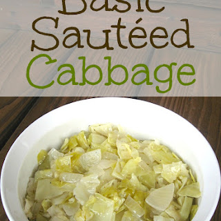 Basic Sautéed Cabbage
