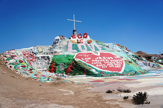 Photo: Salvation Mountain is an art installation covering a hill north of Calipatria, California, near Slab City and just several miles from the Salton Sea.
