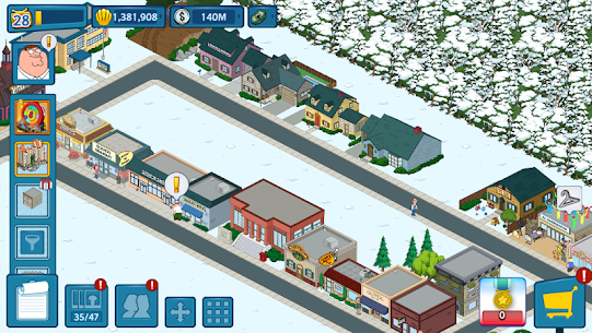 Family Guy The Quest for Stuff MOD 1.67.1 (Free Shopping) Apk 6