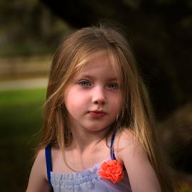 Gianna at five by Joe Saladino - Babies & Children Child Portraits ( girl, portrait, family, child )