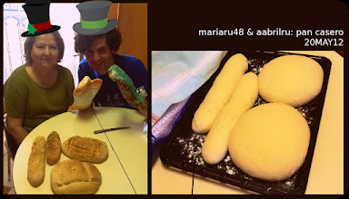 Photo: mariaru48 & aabrilru: pan casero