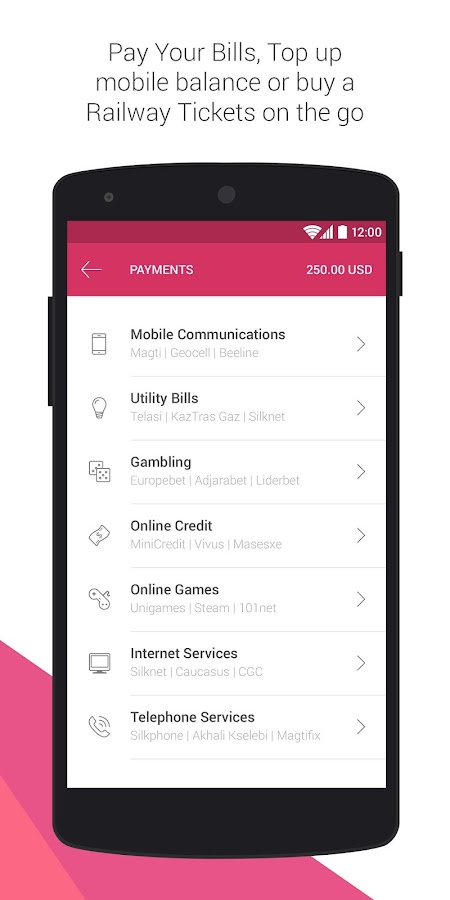 UniPAY- screenshot