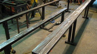 Photo: New mini rails ready for paint.