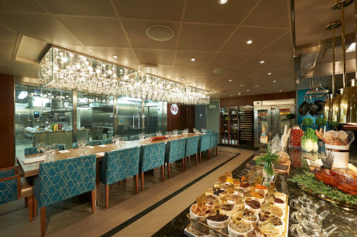 carnival-panorama-Chefs-Table.jpg - Prepare for the meal of your lifetime. Chef's Table is a multicourse experience hosted by the master executive chef featuring foods not found on regular dining menus.