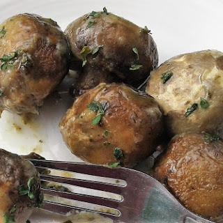 Slow Cooker Ranch Mushrooms Recipe