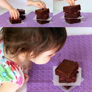 Triple Chocolate Olive Oil Brownies.