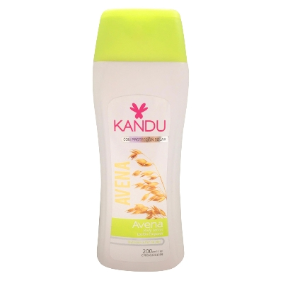 crema corporal kandu locionion avena 200ml