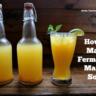How to Make Fermented Mango Soda
