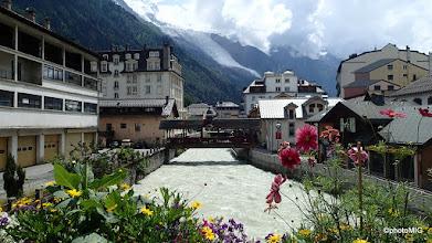 Photo: Kroz Chamonix protječe rijeka L'Arve