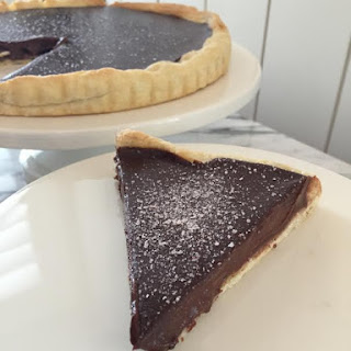Victorian Chocolate Tart.