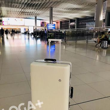 潮色條款鋁框輕身行李箱