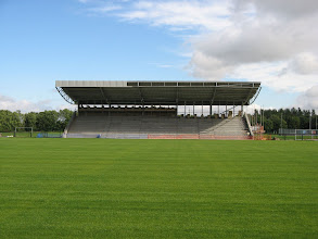 Photo: 07/09/10 - Construction work at the new Corby Town FC ground - contributed by Richard Panter