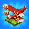 Merge Airplane: Cute Plane Merger