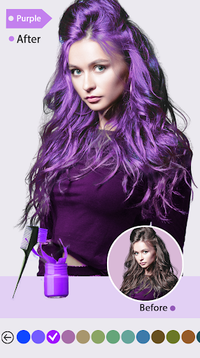 Easy Hair Color Changer Apk 2