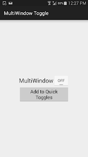MultiWindow Toggle for Samsung Screenshot
