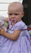 Photo: Baby Hailey fighting Leukemia.