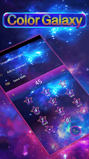 Color Galaxy Emoji Keyboard  screenshots 8