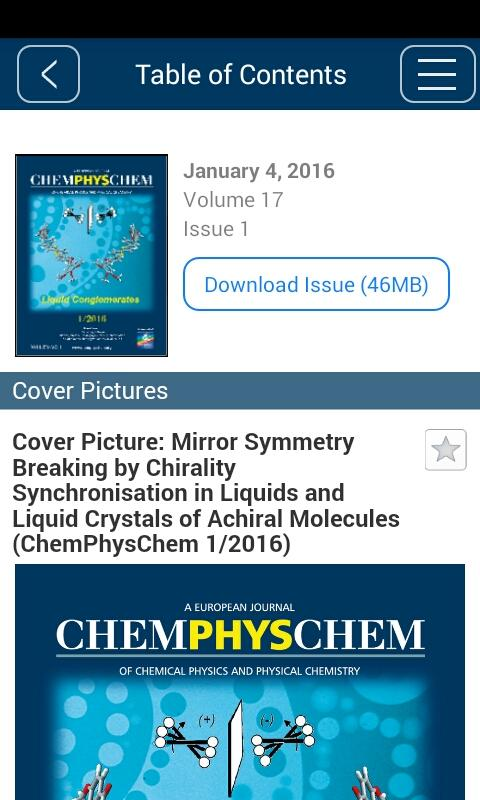 ChemPhysChem- screenshot