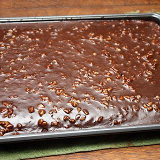 Mom's Chocolate Sheet Cake
