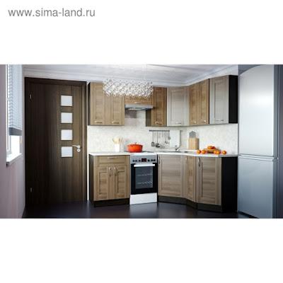 Кухонный гарнитур Кира мега оптима 2100*1500