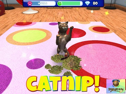 InstaKitty 3D-Virtual Cat Sim- screenshot thumbnail