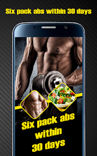 Six pack abs within 30 days - náhled
