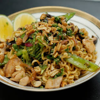 Ramen Chicken Noodle Stir Fry.