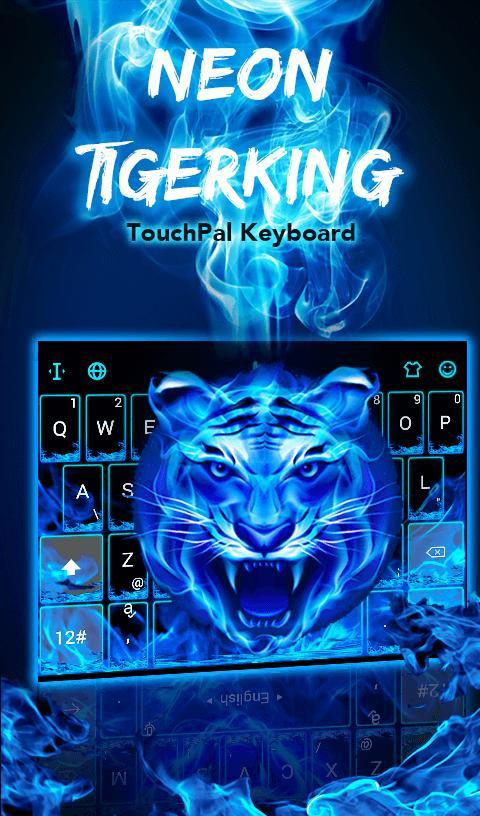 Neon Tiger King Keyboard Theme - Android Apps on Google Play